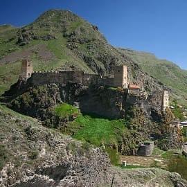 Khertvisi Fortress-Vardzia-Akhtala Fortress