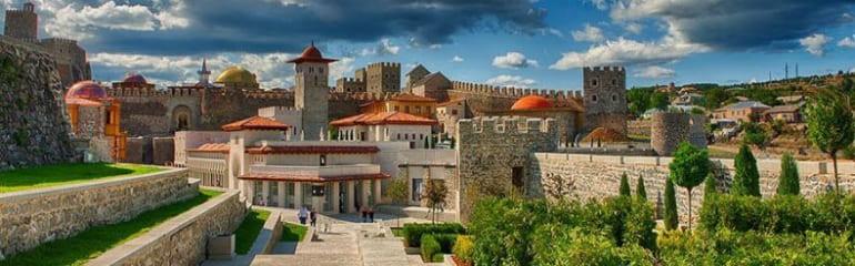 Fortress Khertvisi - Vardzia - Akhaltsikhe Fortress